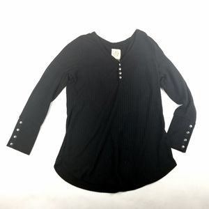 🍊Chaser Black Thermal Long Sleeve Top Size XL